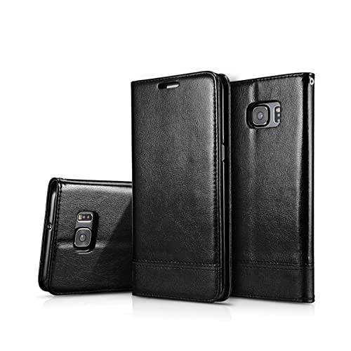 los angeles 478f7 b77e3 Top Rated S7 Edge Leather Phone Cases: Amazon.com
