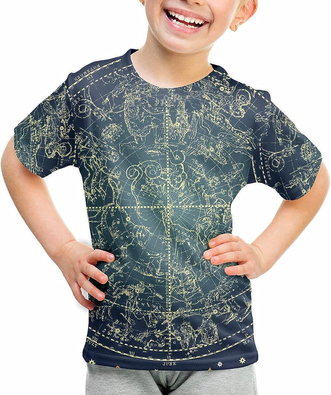Over item handling Rainbow Rules Youth Cotton Blend Stars T-Shirt Constellations - Arlington Mall