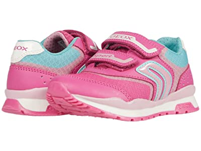 Geox Kids Pavel Girl 3 (Little Kid) (Fuchsia/Pink) Girl