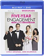 The Five-Year Engagement (Blu-ray + DVD + Digital Copy + UltraViolet + My Big Fat Greek Wedding 2 / The Boss / Mother's Day Fandango Cash)