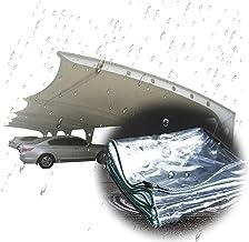 LIANGJUN transparant zeil, duurzaam transparant 0,5 mm dik, regendicht, stofdicht zeil met ogen, anti-veroudering tentzeil...