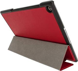 Kepuch Custer Sony Xperia Z2 Tablet Funda - Slim Smart Cover Funda Protectora de PU Cuero para Sony Xperia Z2 Tablet - Rojo