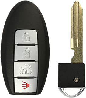 KeylessOption Keyless Entry Remote Control Car Smart Key Fob Replacement for KR55WK48903, KR55WK49622