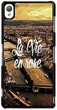 La Vie en Rose Paris France Retro Vintage Cool Fashion Design case for Sony Xperia Z3