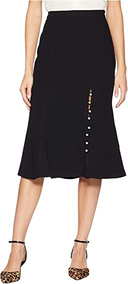 Midi Skirt with Pearls