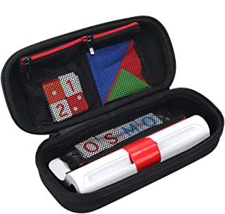 Esimen Storage Organizer Hard Case for Osmo Genius Kit, fits OSMO Base/Starter/Numbers/Words/Tangram/Coding Awbie Game Carry Bag Protective Box (Black)
