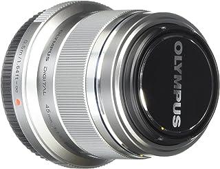 Olympus M.Zuiko Digital 45mm F1.8 Lens, for Micro Four Thirds Cameras (Silver)