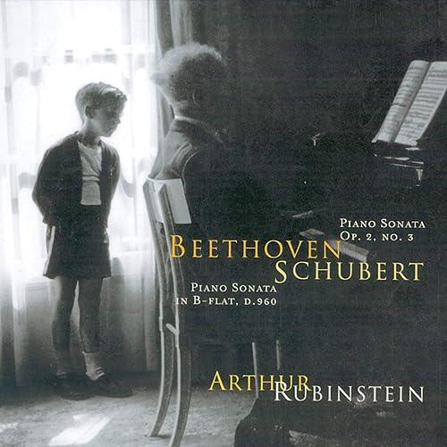 Rubinstein Collection, Vol. 55: Beethoven: Sonata, Op. 2/3; Schubert: Sonata, Op. posth.