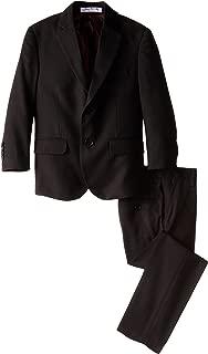 Little Boys' Slim 2 Piece Cut Wool Blend Suit