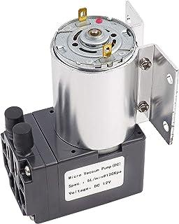 Geluidsarme DC 12V negatieve druk zuigpomp Micro-pomp Stabiele mini vacuüm zuigpomp 5L / min 120KPa Hoge efficiëntie indus...