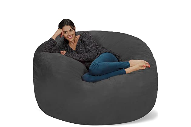Terrific Best Giant Bean Bag Chairs For Adult Amazon Com Dailytribune Chair Design For Home Dailytribuneorg
