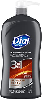 Dial for Men Hair + Body Wash, Ultimate Clean, 32 Fluid Ounces