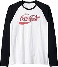 Coca Cola Coca Cola Enjoy Raglan Baseball Tee