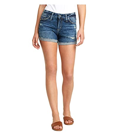 Silver Jeans Co. Suki Mid-Rise Curvy Fit Shorts L53960SGX351 Women