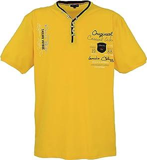 Lavecchia Men's T-Shirt Yellow Big Sizes