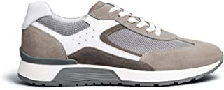 NeroGiardini E001483U Sneaker Uomo Camoscio/Tela/Pelle