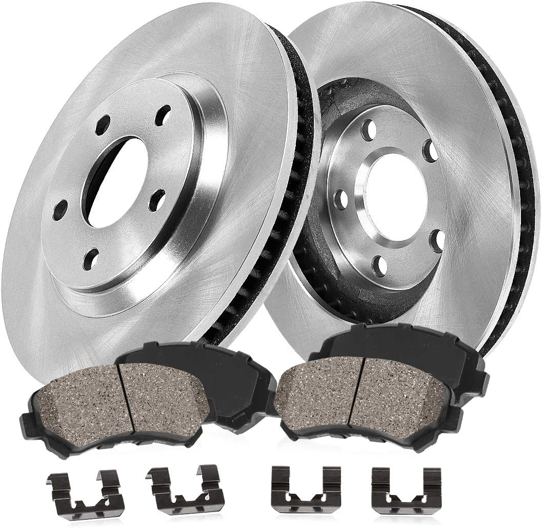 Ranking TOP11 CRK14100 FRONT 335.5 mm 2021 autumn and winter new Premium OE 5 Disc Brake 2 + Rotors Lug