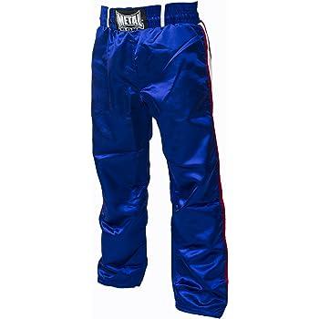 Noir, 130 Pantalon Full Contact Enfant Metal Boxe