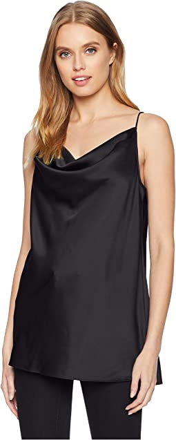 Sleeveless Cowl Neck Cami