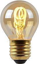 Lucide LED Bulb - Filament lamp - Ø 4,5 cm - LED Dimb. - E27-1x3W 2200K - Amber