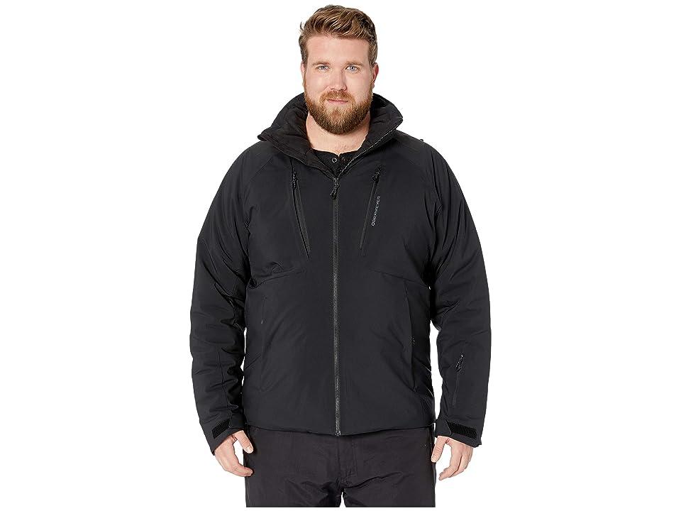 Obermeyer Big and Tall Foundation Jacket (Black) Men