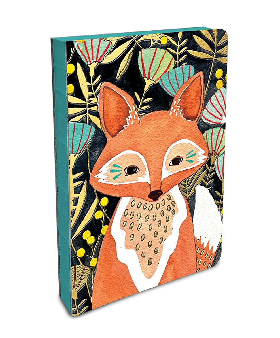 Studio Oh! Hardcover Medium Coptic-Bound Journal Available in 10 Designs, Marissa Redondo Woodland Fox