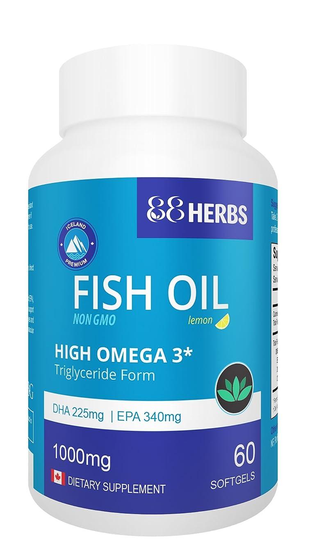 Premium Fish Oil | High Omega 3 | Non GMO