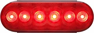 Optronics STL12RS Red Lens 6 Oval Sealed LED Tail Light