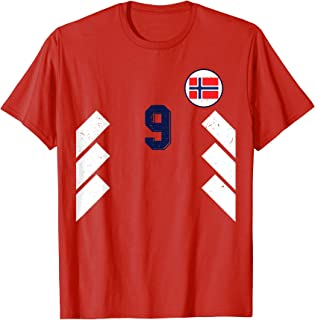 Norway Football Soccer Jersey Norge Retro Sports T-Shirt