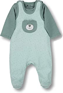 Sterntaler Unisex Baby Strampler-Set Jersey Ben Strampelhose