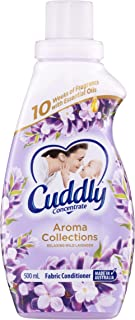 Cuddly Aroma Collections Concentrated Fabric Softener Conditioner Relaxing Wild Lavender Made in Australia, 500mL (1224789)
