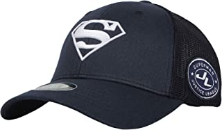 WITHMOONS Superman Shield Embroidery Baseball Cap Mesh Hat ACM1206