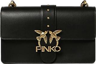 1P22A9.Y6XT Z99 NERO LIMOUSINE PINKO Pinko Pelletteria Borsa Donna LOVE CLASSIC ICON SIMPLY - PINKO