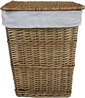 wicker washing baskets uk