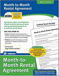 Adams Month-to-Month Rental Agreement