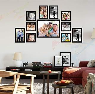 ART STREET - Memory Wall Photo Frame - Set of 11 Individual Photo Frames