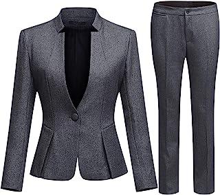 mydeshop Women Fashion Linen Cotton and Wide Leg Trousers Two Piece Outfits Sets