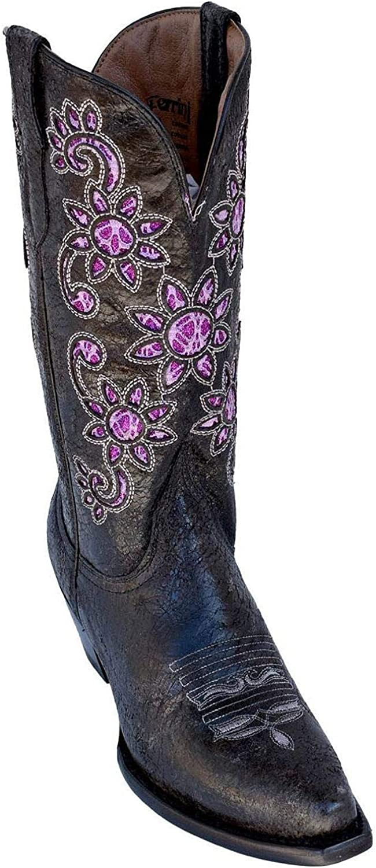 Ferrini Womens Sunflower Western Boot