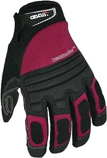 Cestus Brickhandler Heavy Duty Work Glove, Red, Extra Large, XL