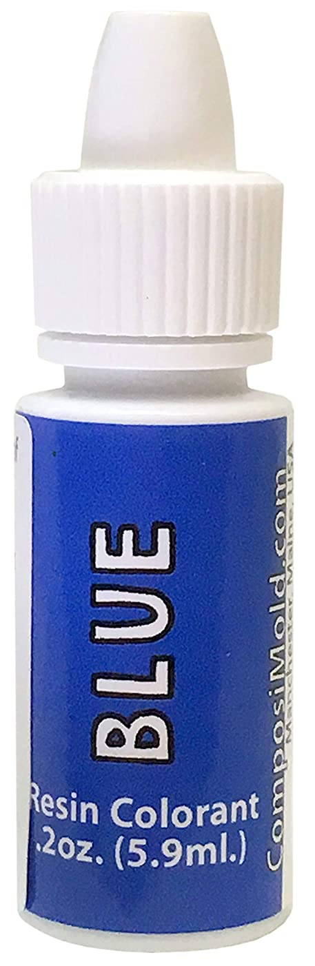 Blue Epoxy Pigment (Colorant, Dye, Tint) 6cc (0.2 oz.)