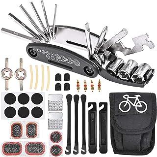 Tout en Un Vélo Réparation Set avec étui par Maxam
