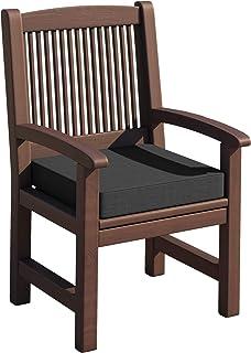sunnypillow Coussin pour Banc de Jardin 50 x 50 x 5 cm plusieures Tailles et Couleurs à Choisir Assise Confortable pour Ba...