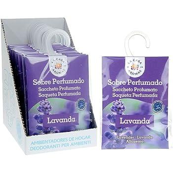 Set de 12 Sobres Perfumados, Bolsitas Aromáticas de Lavanda, Saquitos para el Armario, Cajón, Ropa de Bebé, Zapatero, Maleta: Amazon.es: Hogar