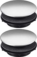 Tatuo Sink Tap Hole Cover Kitchen Faucet Hole Cover Stainless Steel, 2 Packs (1.2 to 1.6 Inch in Diameter)