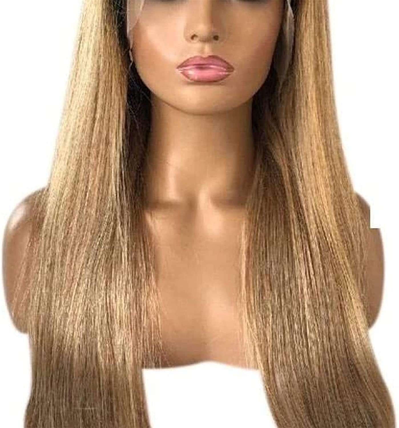 XZGDEN Wigs Hair Max 65% OFF Wig Sales 13 4 Blond Front Lace Human Natur