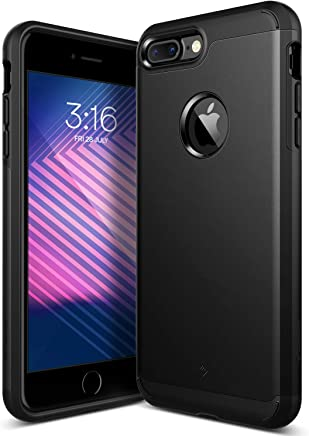 Caseology Legion for Apple iPhone 7 Plus Case (2016) - Dual-Layer Armor - Matte Black