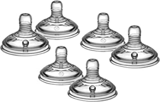 Pack of 2, 4, 6 Baby Bottle Teats Fast Flow Teats Tommee Tippee (6m+) ! (Pack of 6 (3x2))