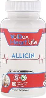 Allimax HeartLife Allicin 500 mg 60 Vegetarian Capsules