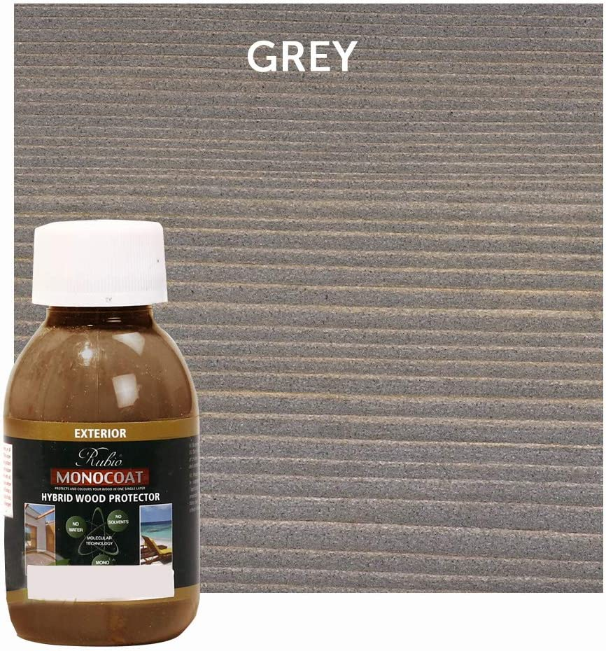 100 ML Rubio Monocoat Exterior Quality inspection Protector Spring new work one after another Wood Hybrid Color: Grey