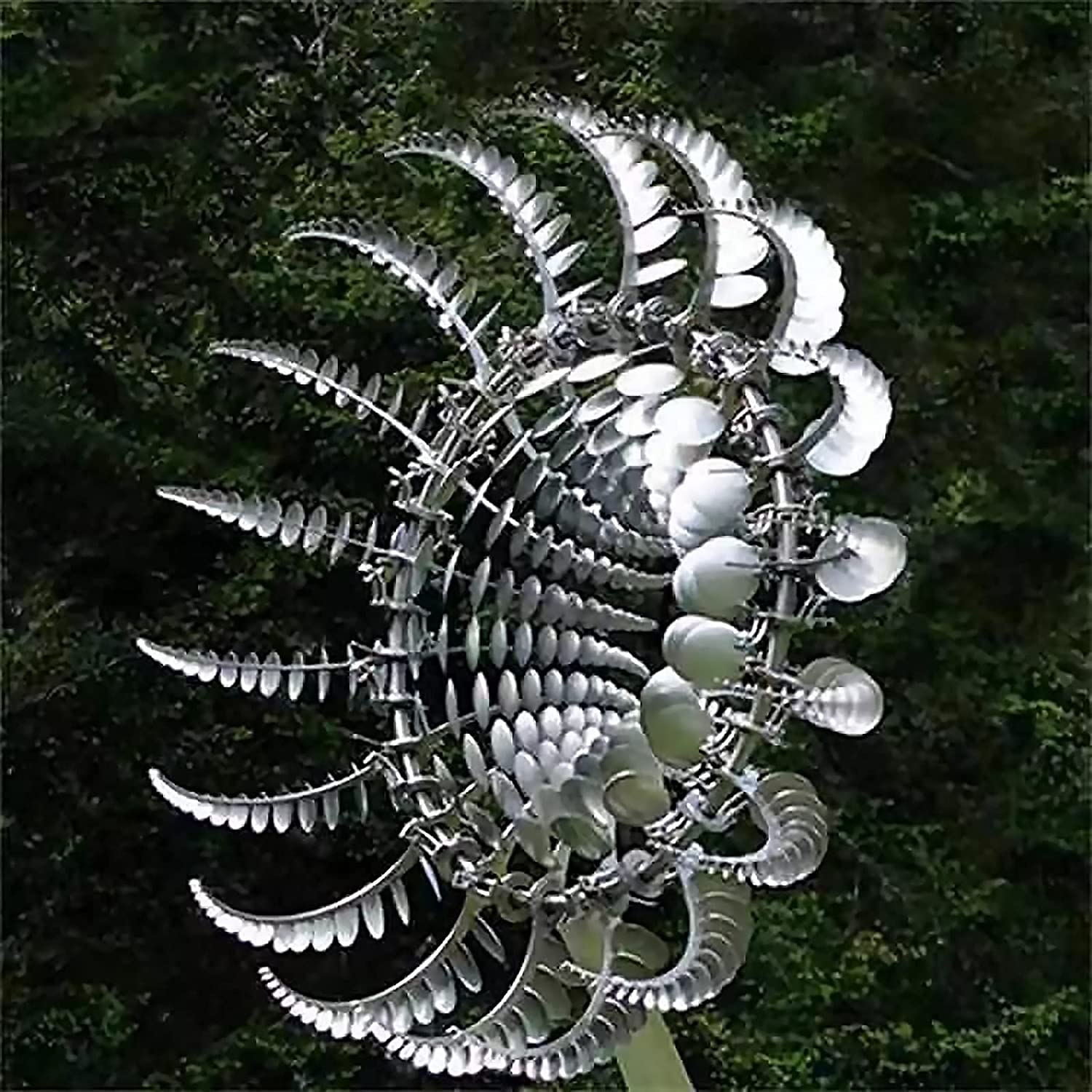 AMYZ Outdoor Unique and Magical W Windmill Stainless Metal Manufacturer direct delivery At the price of surprise Steel